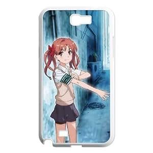 Samsung Galaxy N2 7100 Cell Phone Case White Toaru Majutsu no Index Fjlur