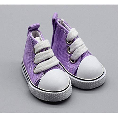 Teene Dolls . - 5cm Canvas Shoes for Dolls Mini Shoes Doll Shoes for DIY Handmade Doll Baby Doll Accessories Sneakers 1 PCs