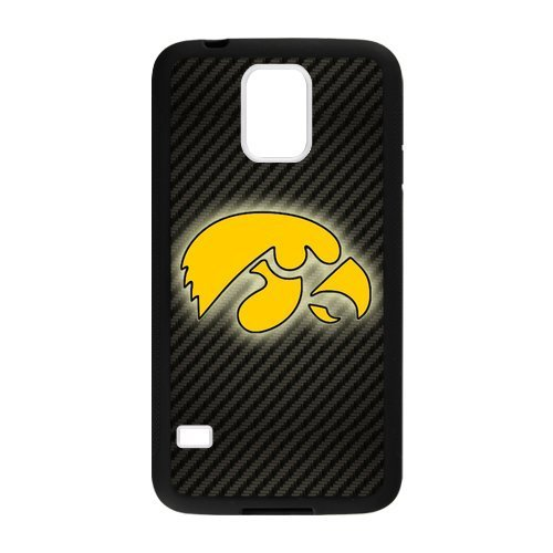 - Generic Custom Unique Design NCAA Iowa Hawkeyes Team Logo Plastic and TPU Case Cover for SamsungGalaxyS5 (Laser Technology)