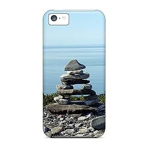 Hot Design Premium Tpu Case Cover Iphone 5c Protection Case(zen)