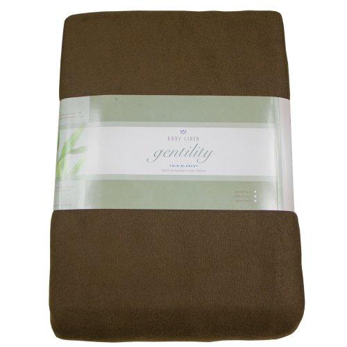 Gentility Polar Fleece Massage Table Blanket , (Cozy Comfort Spa Blanket)