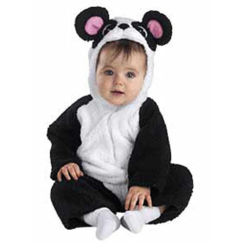 Petite Panda Costume: Baby's Size 12-18 (Toddler Petite Pirate Costumes)