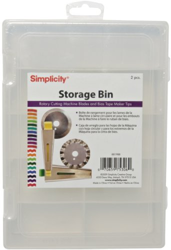 Simplicity Storage Bin for Machine Blades and Tips