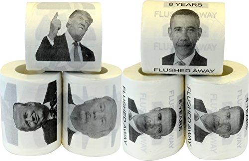 Fairly Odd Novelties FON-10234 Toilet Paper Donald Trump ...