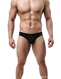 New Fashion Men's sexy low-waist Boxer Swimming Swim Trunks Swimwear