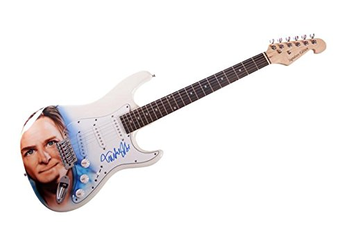 Michael J. Fox Autographed Signed Custom Airbrushed Guitar Preorder AFTAL