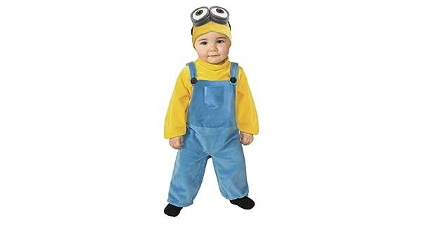 EL CARNAVAL Disfraz Bebe Minion Talla 1-2 años: Amazon.es ...