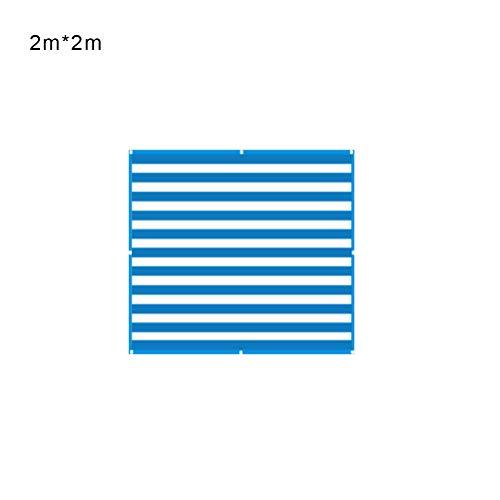 Uscyo Sunshade Square, Sunblock Sunscreen Net Shade Cloth Lightweight and Durability Greenhouse Shade Net UV Resistant Net Shading Rate for Garden