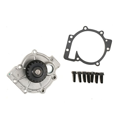 - MOCA 190-1080 Engine Water Pump Kit for 03-13 VOLVO V70 S70 S40 S60 S80 V40 V50 XC70 XC90 2.4L 2.5L