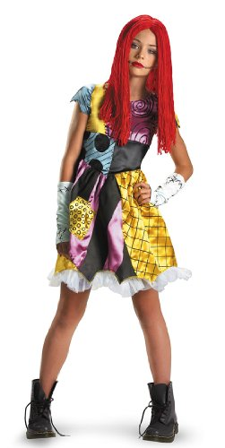 Rag Doll Costume Makeup (Sally Tween Costume - Medium)