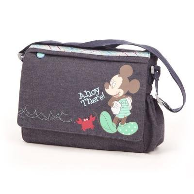 Amazon.com : Disney Retro Mickey Changing Bag (Denim) : Baby