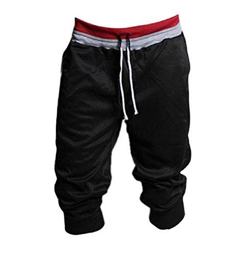 New PHOTNO Training Trousers Men sport sweat pants shorts Harem Dance baggy jogging pants