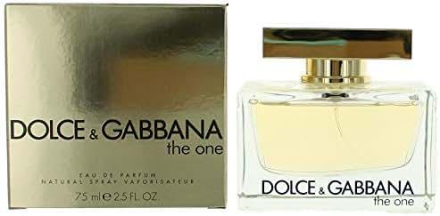 Dolce and Gabbana The One Eau de Parfum Spray, 2.5 Fluid Ounce