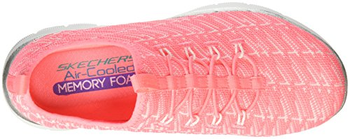 Skechers Frauen Flex Appeal 2.0 Insight Sneaker Neon Pink