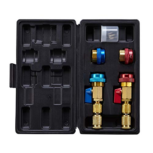 Lichamp Automotive AC R134A R1234YF Valve Core Remover and Installer Tool Set, for Standard and JRA Valve Core Couplers