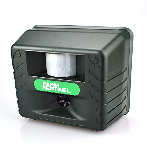 - Flantor Yard Sentinel, Soldier Sentinel, Electronic Pest Animal Ultrasonic Repeller, Animal Control, Pest Control, Repellent for Cat/Dog/ Deer/Mice/Bird/Bear/Fox with AC Adaptor - 5016 (Green)