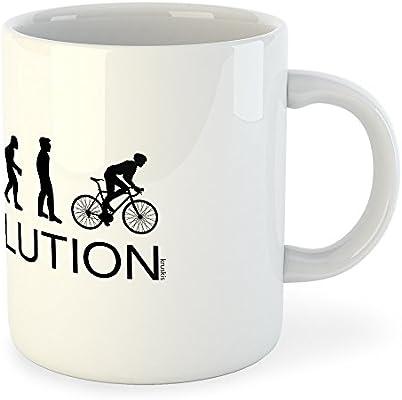 kruskis Taza Ciclismo Evolution Bike: Amazon.es: Hogar