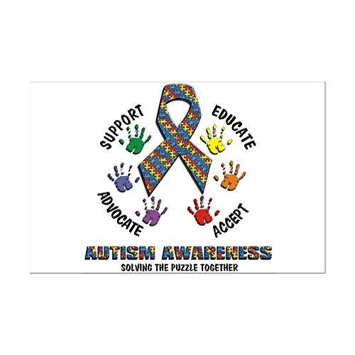 CafePress - Autism Awareness - Mini Poster Print