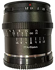 TTARTISAN 50mm F1.2 Large Aperture Manual Focus Fixed Lens, Compatible with Nikon Z-Mount Z5 Z6 Z6II Z7 ZFC Mirrorless Cameras (Silver)
