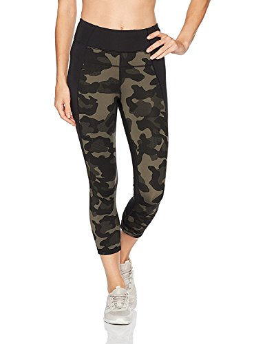 Calvin Klein Womens Jigsaw High Waist Leggings