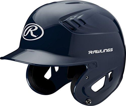 Rawlings Clear Coat Alpha Sized Batting Helmet, Navy, X-Large