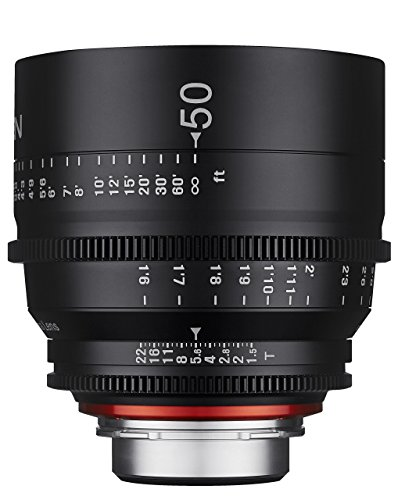 Rokinon Xeen XN50-PL 50mm T1.5 Professional CINE Lens for PL Mount (Certified Refurbished)