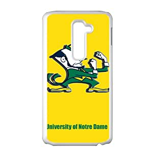 Warm-Dog NCAA Notre Dame Fighting Irish Logo Cell Phone Case for LG G2
