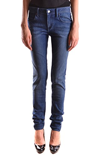Donna Jeans Cotone Burberry Blu Mcbi056230o Bvxqxw1F5