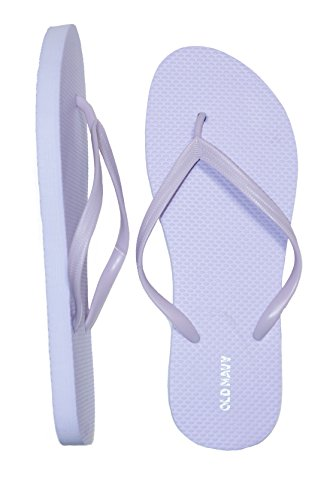 Navy Beach or Lavender Great Casual Flop Sandals Old for Woman for Wear Flip dK8dqpy74