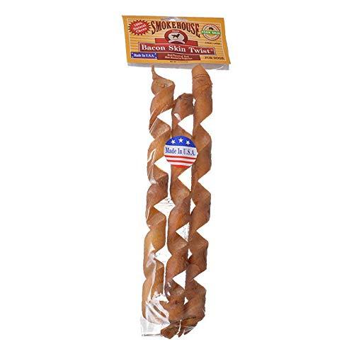 Smokehouse Treats Bacon Skin Twists (5 Pack)
