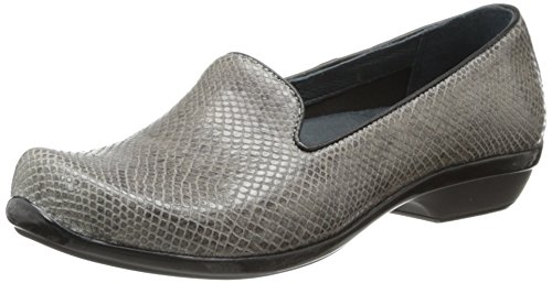 Dansko Women's Olivia Loafer Grey Snake