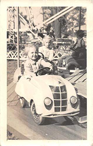 Istanbul Turkey Children Amusement Park Real Photo Vintage Postcard JF686729