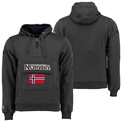 Geographical Ass Gris Enfiler À Men Gymclass 007 Sweat Norway A BxAqawBP