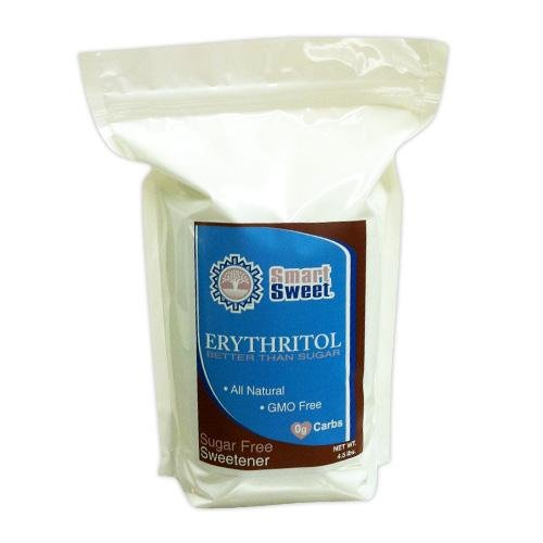 Smart Sweet Erythritol 4.5lbs- No Calories, Glycemic index, GMO, Corn, Wheat, Soy, Dairy or Gluten