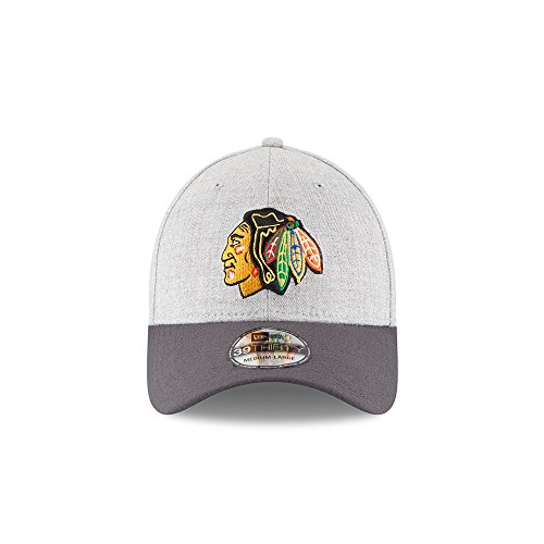 reputable site cb481 a84e5 Chicago Blackhawks New Era 39THIRTY Change Up Flex Fitted Hat NHL Baseball  Cap (Medium