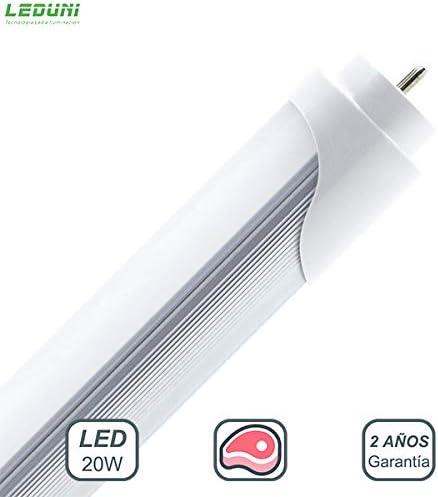 LEDUNI Tubo de LED T8 1200 mm 17W Especial Carniceria ROSA: Amazon.es: Iluminación