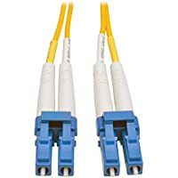 Tripp Lite 25M Duplex Singlemode SSF 8.3/125 Fiber Patch Cable (LC/LC) 82 (N370-25M)