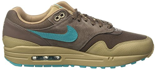 Nike Air Max 1 Præmie Livsstil Afslappet Sneakers Herre Ny Ridgerock, Kaki, Turbo Grøn