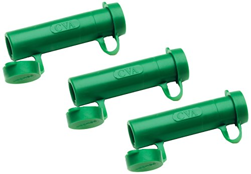 Blackpowder Products Rapid Loader, 0.50 Caliber, Green (Pack of 3) (Powder Black Cal 50)