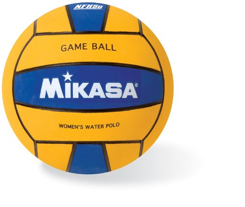 Mikasa Water Polo Game Ball (Women's, Blue/Yellow)