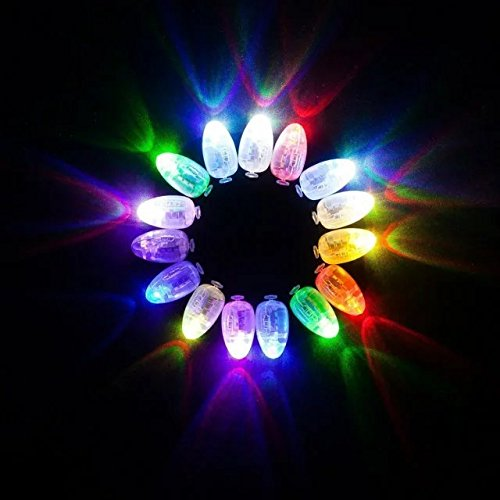 Neo LOONS 100pcs/lot 100 X MultiColor Led Flash Ball Lamp Balloon Light long standby time for Paper Lantern Balloon Light Party Wedding Decoration -