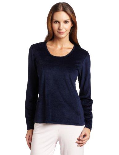 Nautica Sleepwear Womens Solid Fleece
