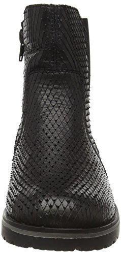 Remonte R1970, Botas Chelsea para Mujer Negro (Schwarz/Schwarz/Schwarz / 02)