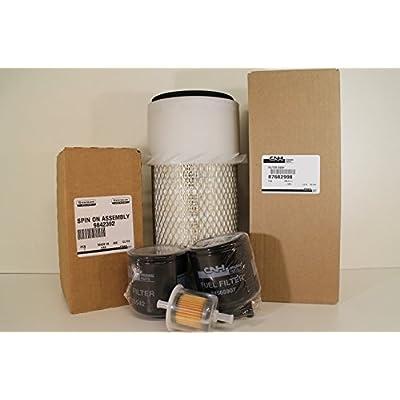 New Holland L140 L150 L160 L170 L175 OEM Maintenance Filter Kit: Automotive