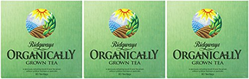 (3 PACK) - Ridgways Organic Tea - Bags| 80 Bags |3 PACK - SUPER SAVER - SAVE MONEY