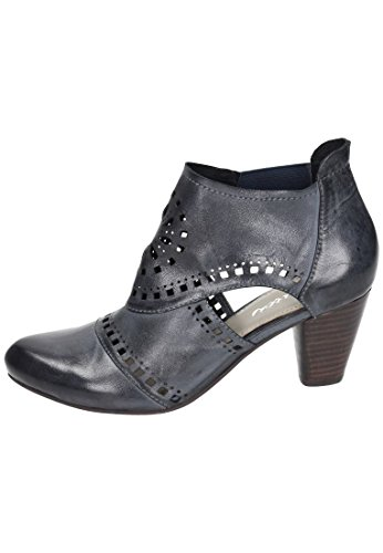 Piazza Piazza Damen Stiefelette - Botas de Piel para mujer Negro negro Negro - negro