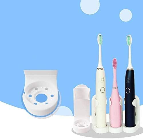 Support adh/ésif Porte-Brosse /à Dents Mural en Plastique Multifonctionnel Porte-Dentifrice pour Salle de Bain et Cuisine BAAQII Paquet de 4 Porte-brosses /à Dents /électriques