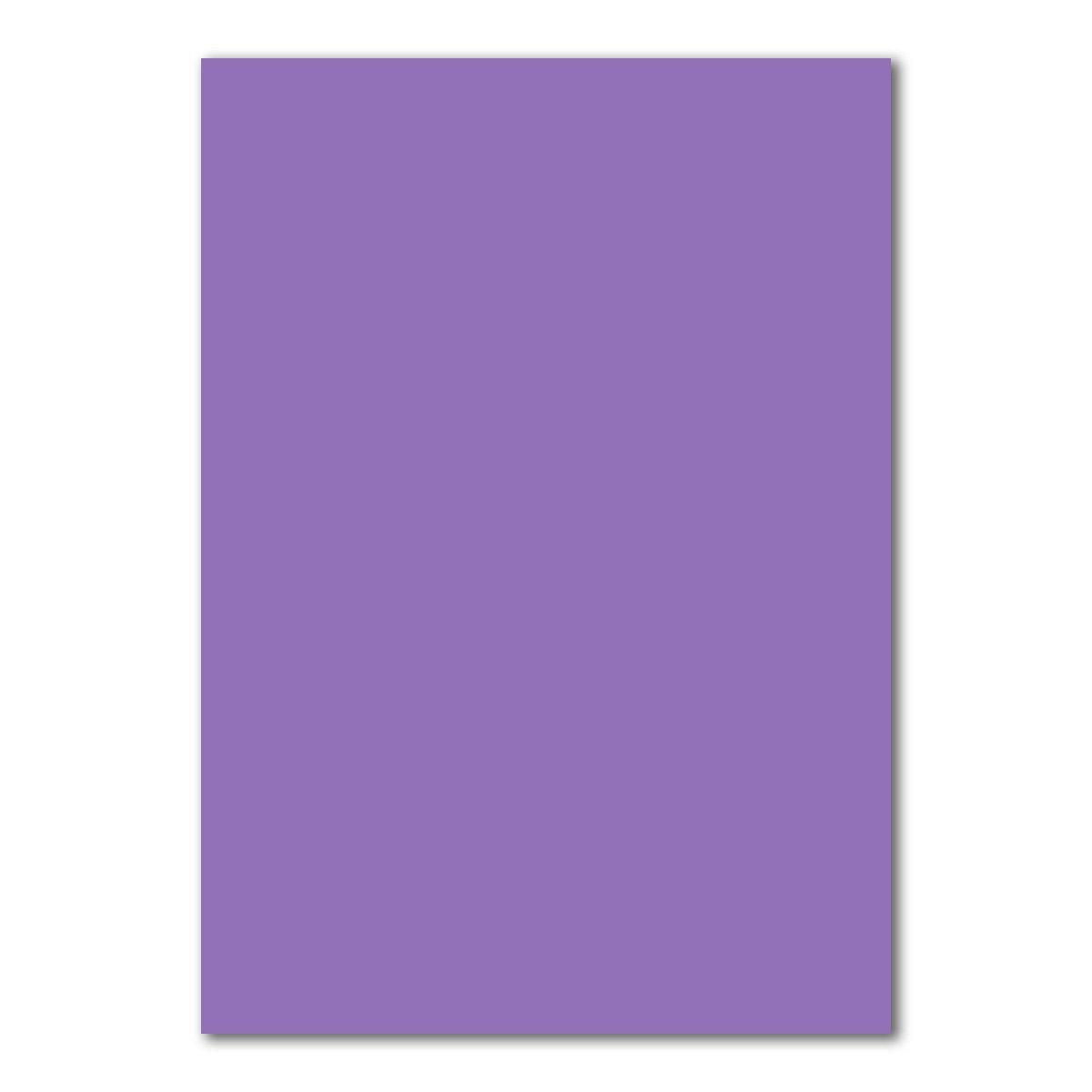 50x DIN A4 Papier Planobogen -Türkis - 240 g/m² - 21 x 29, 7 cm - Bastelbogen Ton-Papier Fotokarton Bastel-Papier Ton-Karton - FarbenFroh® Neuser