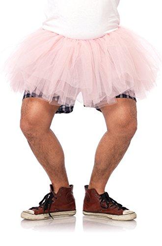 Mens Pink Tutu Adult Costumes (Leg Avenue Men's Tutu Costume Accessory, Pink, One Size)