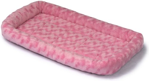 Midwest Quiet Time Fashion Pet Bed, Pink, 22 x 13, My Pet Supplies